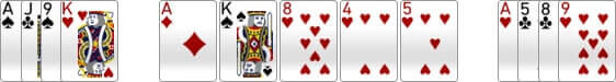 The river in omaha poker with the 5th community card introduced